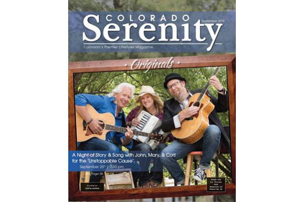 """Originals"" Event covered in Colorado Serenity Magazine"